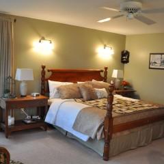 Loon guestroom from deck door